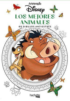 ARTETERAPIA. LOS MEJORES ANIMALES DISNEY
