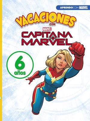 VACACIONES CON MARVEL. 6 AÑOS