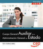 TEST 2019 CUERPO GENERAL AUXILIAR DE LA ADMINISTRACION GENERAL DEL ESTADO