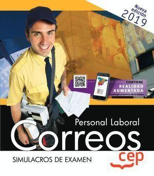 PERSONAL LABORAL CORREOS SIMULACROS DE EXAMEN 2019.
