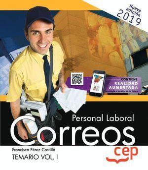 PERSONAL LABORAL CORREOS TEMARIO I. 2019