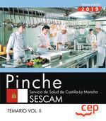PINCHE SERVICIO SALUD CASTILLA LA MANCHA 2019. TEMARIO II  CEP