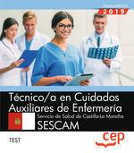 TECNICO CUIDADOS AUXILIARES ENFERMERIA SESCAM TEST CEP 2019