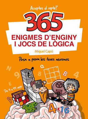 365 ENIGMES D'ENGINY I JOCS LOGICA