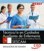 TECNICO CUIDADOS AUXILIARES ENFERMERIA SESCAM SIMULACROS 2019 CEP