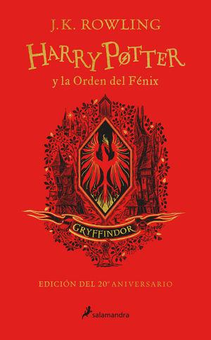 HARRY POTTER Y LA ORDEN DEL FÉNIX (EDICIÓN GRYFFINDOR DEL 20º ANIVERSARIO)