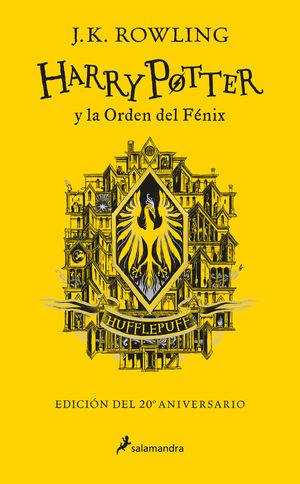 HARRY POTTER Y LA ORDEN DEL FÉNIX (EDICIÓN HUFFLEPUFF DEL 20º ANIVERSARIO)
