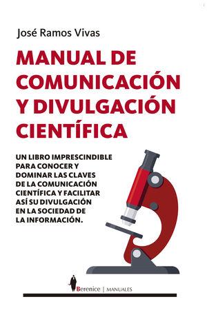 MANUAL DE COMUNICACIÓN Y DIVULGACIÓN CIENTÍFI...
