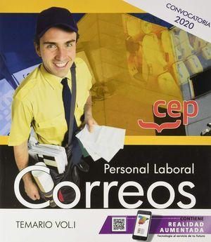 PERSONAL LABORAL 2020. CORREOS. TEMARIO VOL.I