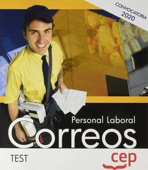 PERSONAL LABORAL 2020. CORREOS. TEST CEP