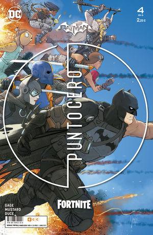 BATMAN / FORTNITE: PUNTO CERO NÚM. 04 DE 6