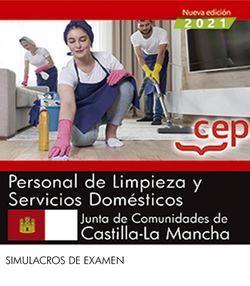 2021 PERSONAL LIMPIEZA JCCM. SIMULACROS DE EXAMEN. CEP