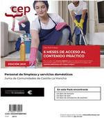 2021 PACK PERSONAL LIMPIEZA JCCM. TEMARIO 1 ;2 Y PRACTICO ONLINE. CEP