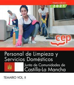 2021 PERSONAL LIMPIEZA Y SERVICIOS DOMESTICOS CASTILLA TEMARIO 2