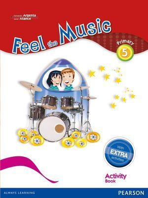 5EP FEEL THE MUSIC 5 ACTIVITY BOOK PACK (EXTRA CONTENT) 2015 PEARSON