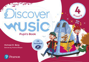 4EP DISCOVER MUSIC 4 PUPIL'S BOOK PACK