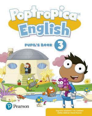 3EP POPTROPICA ENGLISH 3 PUPIL'S BOOK PACK