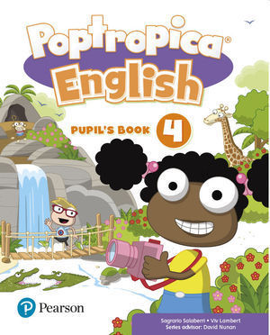 4EP POPTROPICA ENGLISH 4 PUPIL'S BOOK PACK