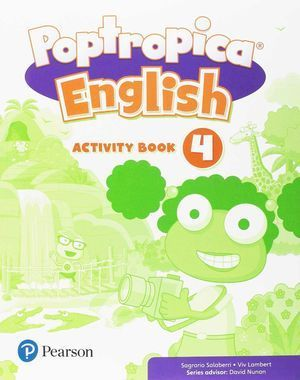 4EP POPTROPICA ENGLISH 4 ACTIVITY BOOK PACK
