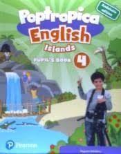 POPTROPICA ENGLISH ISLAND 4 PUPIL´S+CODE ANDALUCIA