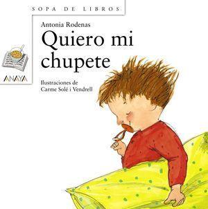QUIERO MI CHUPETE C.SOPA DE LI