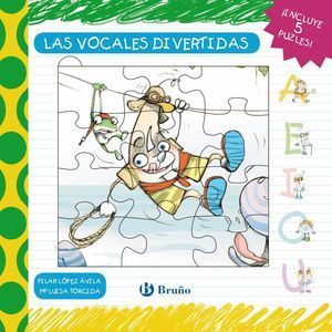 LAS VOCALES DIVERTIDAS - LIBRO PUZLE