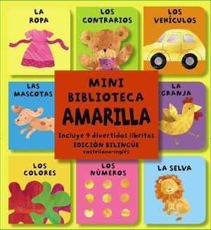 MINI BIBLIOTECA AMARILLA