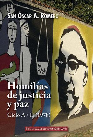 HOMILIAS DE JUSTICIA Y PAZ. CICLO A/II (1978)