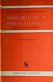 ANTOLOGIA POESIA ESPAÑOLA 3 LIRICA DE TIPO TRADICIONAL