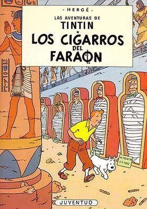 TINTIN EN LOS CIGARROS DEL FARAÓN