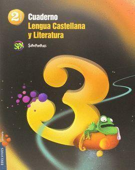 2EP CUADERNO 3 DE LENGUA CASTELLANA Y LITERATURA 2º PRIMARIA