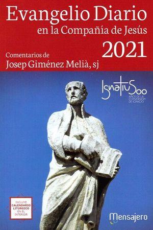 EVANGELIO DIARIO -2021 (LETRA GRANDE) EN LA COMPAÑIA DE JESUS