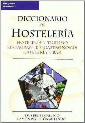 DICCIONARIO DE HOSTELERIA