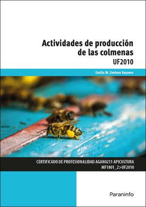 ACTIVIDADES DE PRODUCCIÓN DE LAS COLMENAS