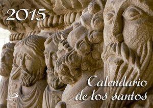 CALENDARIO DE LOS SANTOS 2015 SAN PABLO