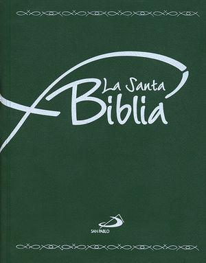 BIBLIA ESCOLAR BOLSILLO TAPA PLASTICO SAN PABLO