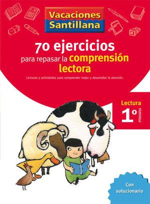 VACACIONES SANTILLANA 1 PRIMARIA 70 EJERCICIO PARA MEJORAR LA COMPRENSION LECTORA