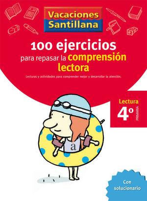 4EP CUADERNO COMPRENSION LECTORA 06 120 EJERCICIOS PARA MEJORAR