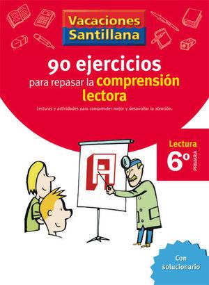 6EP CUADERNO COMPRENSION LECTORA 06 120 EJERCICIOS PARA MEJORAR
