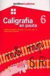CUADERNO DE CALIGRAFIA EN PAUTA 6