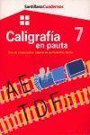 CUADERNO DE CALIGRAFIA EN PAUTA 7