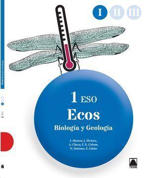 1ESO BIOLOGÍA ECOS TRIMESTRAL 2015 TEIDE