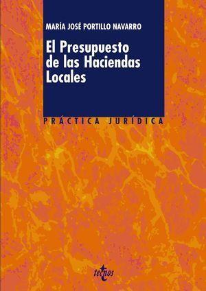 PRESUPUESTO DE LAS HACIENDAS LOCALES, EL