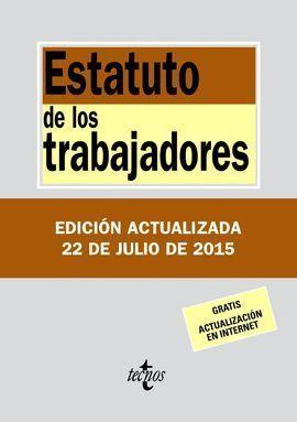 ESTATUTO DE LOS TRABAJADORES 2015