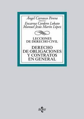 LECCIONES DE DERECHO CIVIL DERECHO DE OBLIGACIONES Y CONTRATOS EN GENERAL