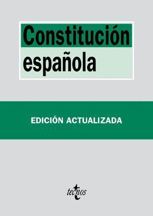 CONSTITUCIÓN ESPAÑOLA TECNOS 2016