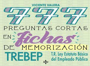 777 PREGUNTAS CORTAS EN FICHAS DE MEMORIZACI�N