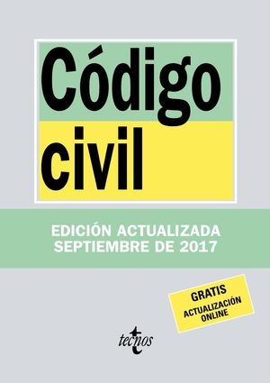 CÓDIGO CIVIL 2017 TECNOS