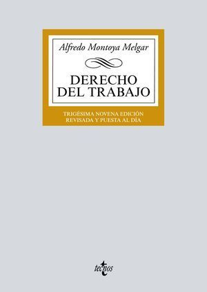 DERECHO DEL TRABAJO 2018 TECNOS