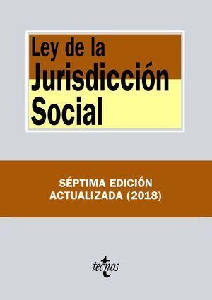 LEY DE LA JURISDICCIÓN SOCIAL 2018 TECNOS